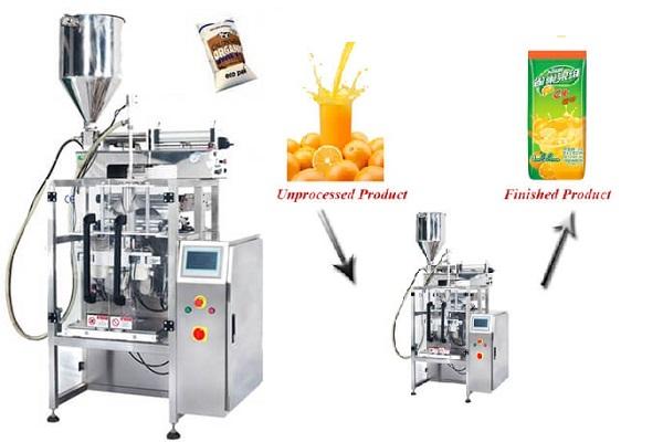液体定量包装机
